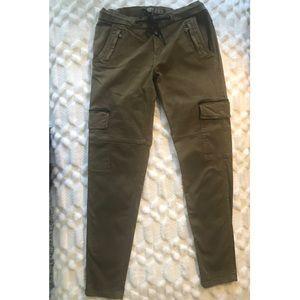 Zara Special Edition Khakis Cargo Pants Size 8